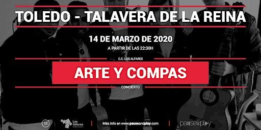 Concierto Arte y compás en Pause&Play Los Alfares
