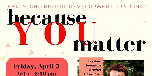 Because YOU Matter - Early Childhood Development Training