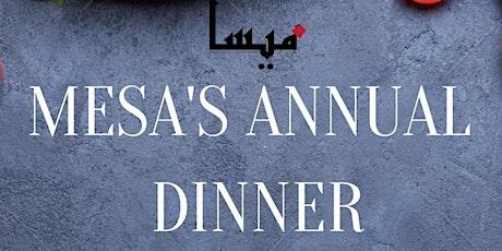 MESA Annual Dinner tickets