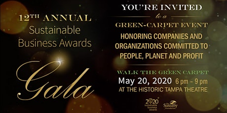 12th Annual Sustainable Business Awards  tickets
