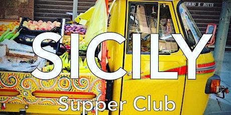 A sicilian dinner. Frizzante Supper Club tickets