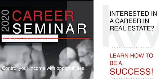 Real Estate Career Seminar - February 22