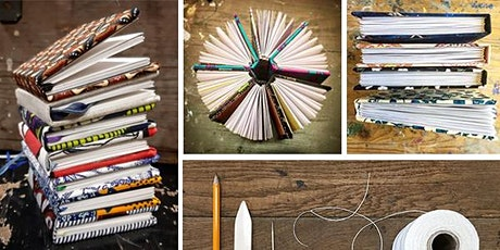ONLINE Upcycled Bookbinding: Case Binding tickets