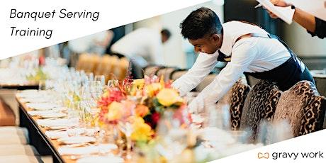 Gravy Work - Basic  Banquet Server Training tickets