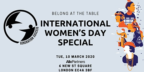 Belonging at the table: International Women's Day Special tickets