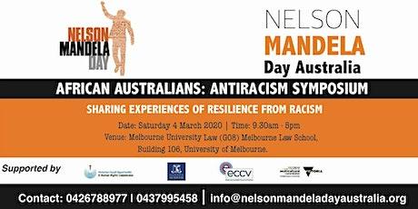 AFRICAN AUSTRALIANS: ANTI-RACISM SYMPOSIUM tickets