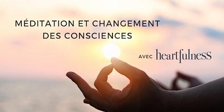 La méditation et  le changement des consciences billets
