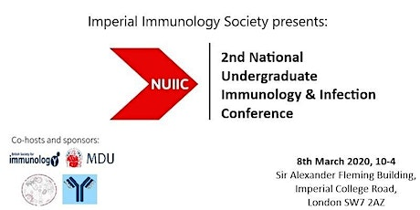 2nd National Undergraduate Immunology and Infection Conference tickets