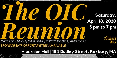 The OIC Reunion tickets