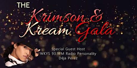 The Krimson & Kream Gala tickets