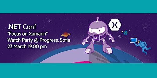 .NET Conf Focus: Xamarin Watch Party @ Progress