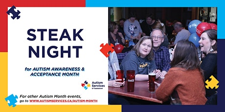 Steak Night for Autism Awareness & Acceptance tickets