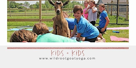 Kids + Kids Goat Yoga tickets