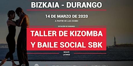 Taller de kizomba y baile social SBK en Pause&Play Durango entradas