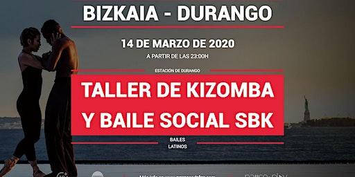 Taller de kizomba y baile social SBK en Pause&Play Durango