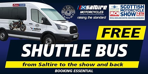 FREE Shuttle Bus to MCN Scottish Motorcycle Show