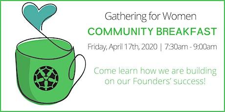Gathering for Women Community Breakfast tickets