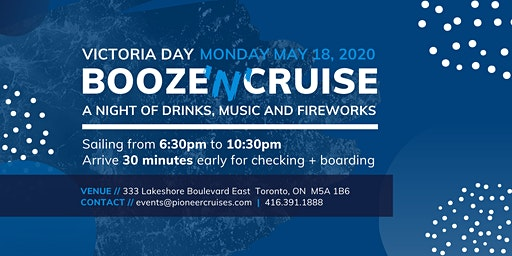 Victoria Day Booze 'N' Cruise 2020 - Drinks, Music & Fireworks