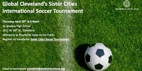 Sister Cities Soccer Tournament tickets