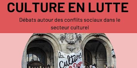 Culture en lutte billets