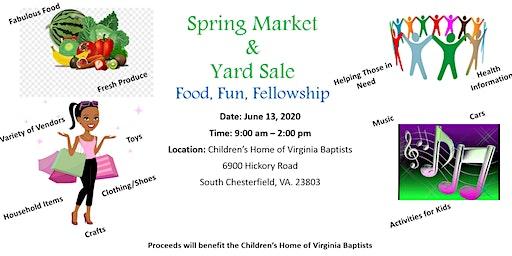 Spring Market & Yard Sale