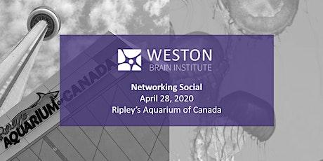 Weston Brain Institute - Networking Social tickets