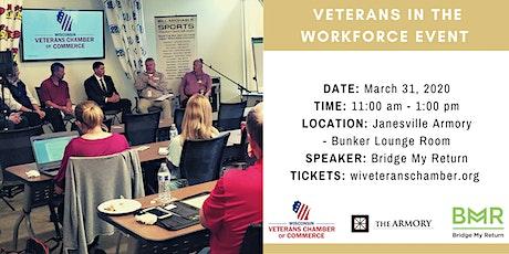 POSTPONED- Veterans in the Workforce Luncheon- Janesville, WI tickets