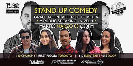 Graduación Taller MalPensando - Nivel 1- Grupo 1 - Comedia tickets