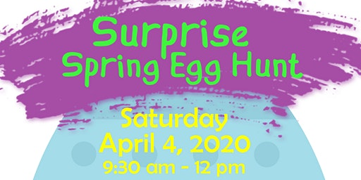 Surprise Spring Egg Hunt 2020
