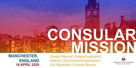 Consular Outreach Mission in Manchester tickets