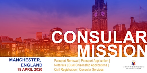 Consular Outreach Mission in Manchester