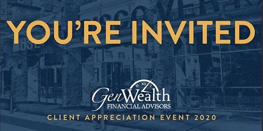 GenWealth Client Appreciation @ Museum of Discovery