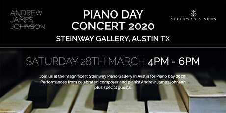 Piano Day Concert at Steinway Gallery Austin, TX tickets
