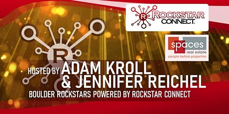 Free Boulder Rockstars Connect Networking Event (March, CO) tickets