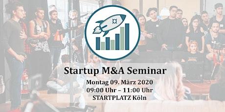 Startup M&A Seminar Tickets