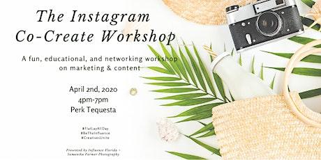 Instagram Co-Create Workshop tickets