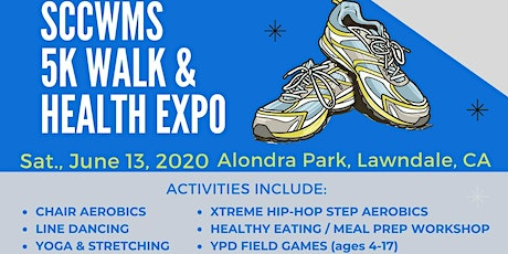 16th Annual SCC WMS 5K Walk & Health Expo. tickets