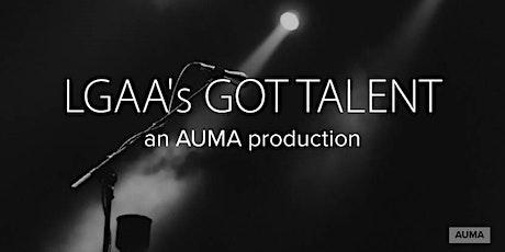 AUMA Presents LGAA's Got Talent tickets