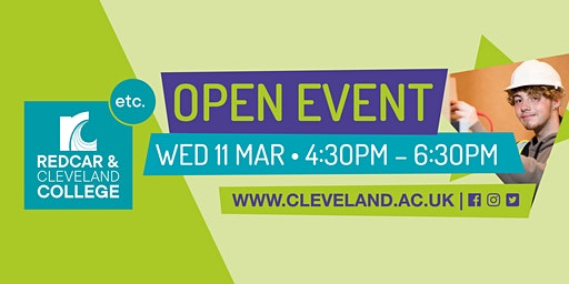 Redcar & Cleveland College Open Event