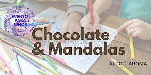 Chocolate y Mandalas. Un evento para Niños