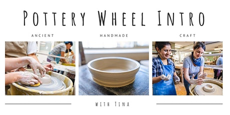 Pottery Wheel Intro Workshop tickets