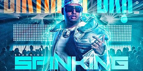 Dj Spinking Hip hop vs Caribbean vs Latin tickets