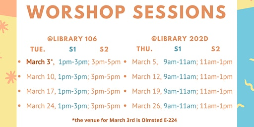 Tax Information Workshop Sessions