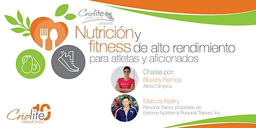 Nutrición y fitness de alto rendimiento para atletas y aficionados