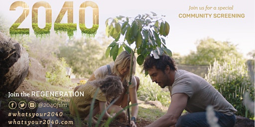 2040 Film Screening at FarmED with 'Hungry Gap' Pop-Up & Bar