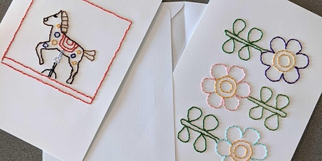 Embroidered Greeting Cards with Michelle - Barter-Based Learning Event tickets