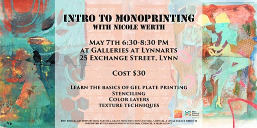 Introduction to Monoprinting