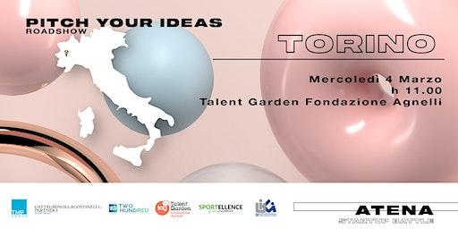 Roadshow Atena Startup Battle | Torino