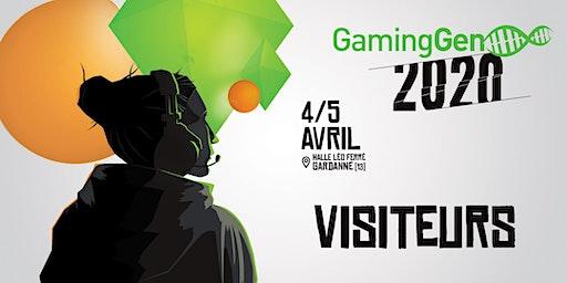 Gaming Gen 2020 - Visiteurs