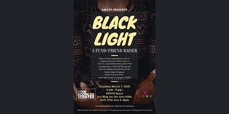Black Light re: Search Friends/Fundraiser tickets